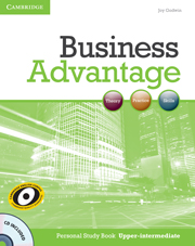 Business Advantage Upper-intermediate Personal Study Book with Audio CD