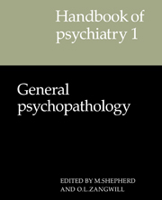 Handbook of Psychiatry