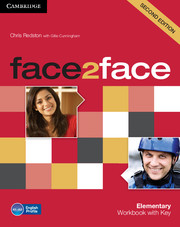 face2face Elementary Workbook with Key