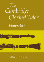 The Cambridge Clarinet Tutor