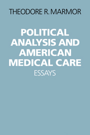 Political Analysis and American Medical Care