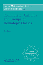 Commutator Calculus and Groups of Homotopy Classes