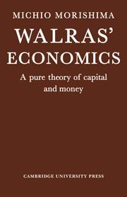 william jaffe s essays on walras walker donald a