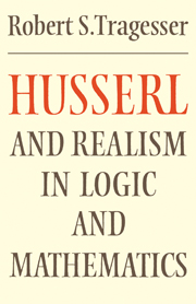 Husserl and Realism in Logic and Mathematics