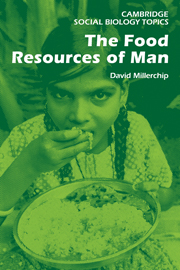 The Food Resources of Man