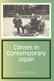 Classes in Contemporary Japan