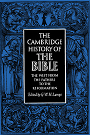 The Cambridge History of the Bible