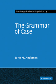 The Grammar of Case