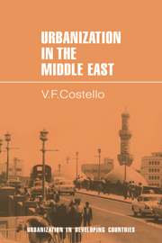 Urbanization in the Middle East