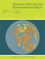Mesozoic and Cenozoic Paleocontinental Maps
