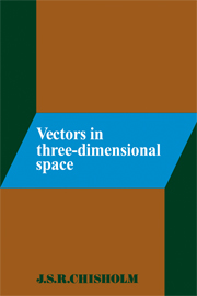 Vectors in Three-Dimensional Space