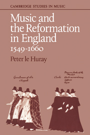 Music and the Reformation in England 1549–1660