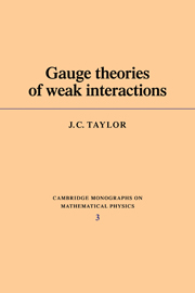 Gauge Theories of Weak Interactions