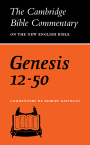 Cambridge Bible Commentaries on the Old Testament