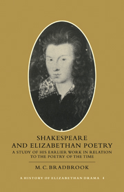 Shakespeare and Elizabethan Poetry