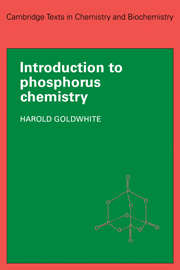 Introduction to Phosphorous Chemistry
