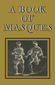 A Book of Masques