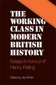The Working Class in Modern British History