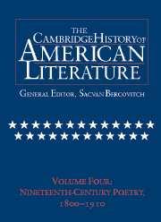 Cambridge history american literature volume 7 | American