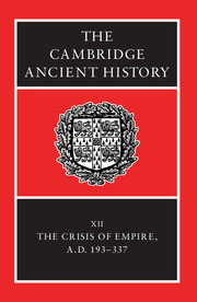 The Cambridge Ancient History edited by Alan Bowman