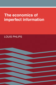 The Economics of Imperfect Information