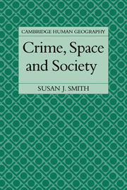 Crime, Space and Society