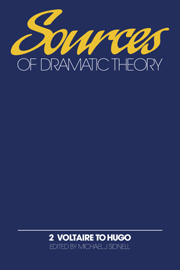 Sources of Dramatic Theory