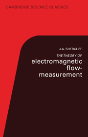 the Theory of Electromagnetic Flow-Measurement