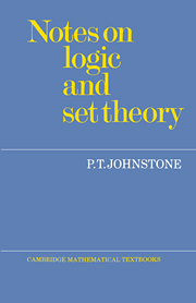 Notes on Logic and Set Theory