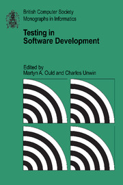 Testing in Software Development
