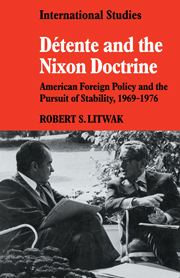 Détente and the Nixon Doctrine