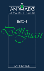 Byron: Don Juan