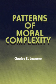 Patterns of Moral Complexity