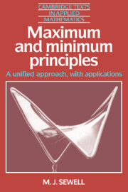 Maximum and Minimum Principles