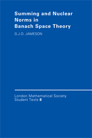 Summing and Nuclear Norms in Banach Space Theory