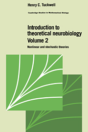 Introduction to Theoretical Neurobiology