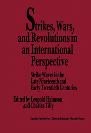 Strikes, Wars, and Revolutions in an International Perspective