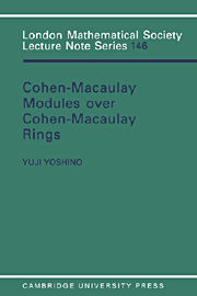 Maximal Cohen-Macaulay Modules over Cohen-Macaulay Rings