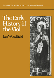 The Early History of the Viol