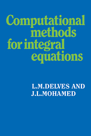 Computational Methods for Integral Equations
