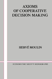 Axioms of Cooperative Decision Making