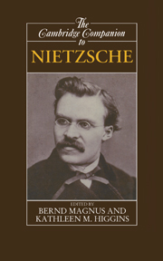 The Cambridge Companion to Nietzsche