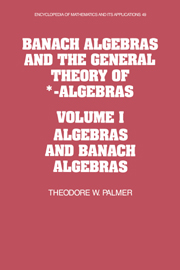 Banach Algebras and the General Theory of *-Algebras