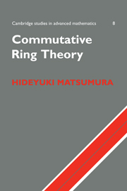 Commutative Ring Theory
