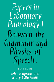 Papers in Laboratory Phonology