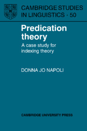 Predication Theory