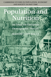 Population and Nutrition