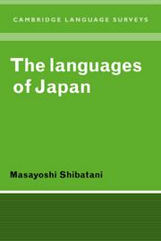 Language of Japan