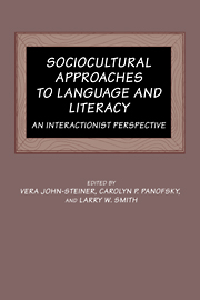 Sociocultural Approaches to Language and Literacy