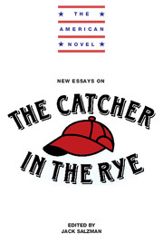 new essays on the catcher in the rye edited by jack salzman new essays on the catcher in the rye